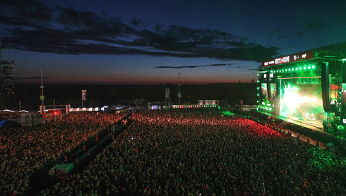 Volcano Stage Rock Am Ring