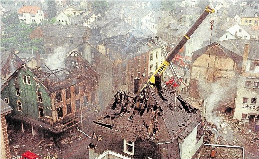 Vor 25 Jahren: Auf Herborns Straßen brannte es lichterloh