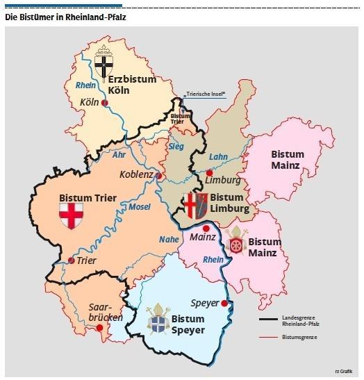 Bistum Trier Karte.Kirche Viele Sonderwege Führen Nach Rom Tagesthema Rhein Zeitung