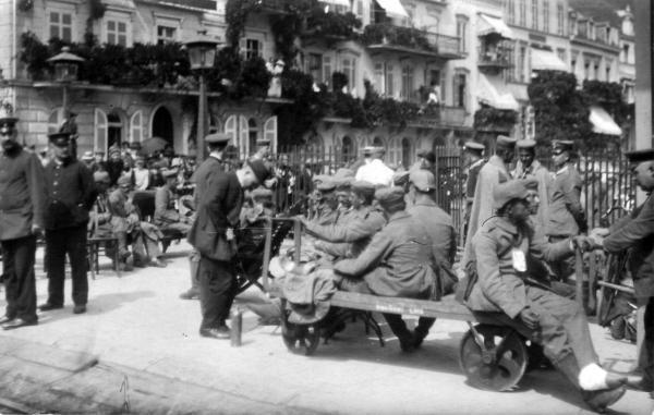 Erster Weltkrieg Traumatisierte Soldaten Kehren Von Den