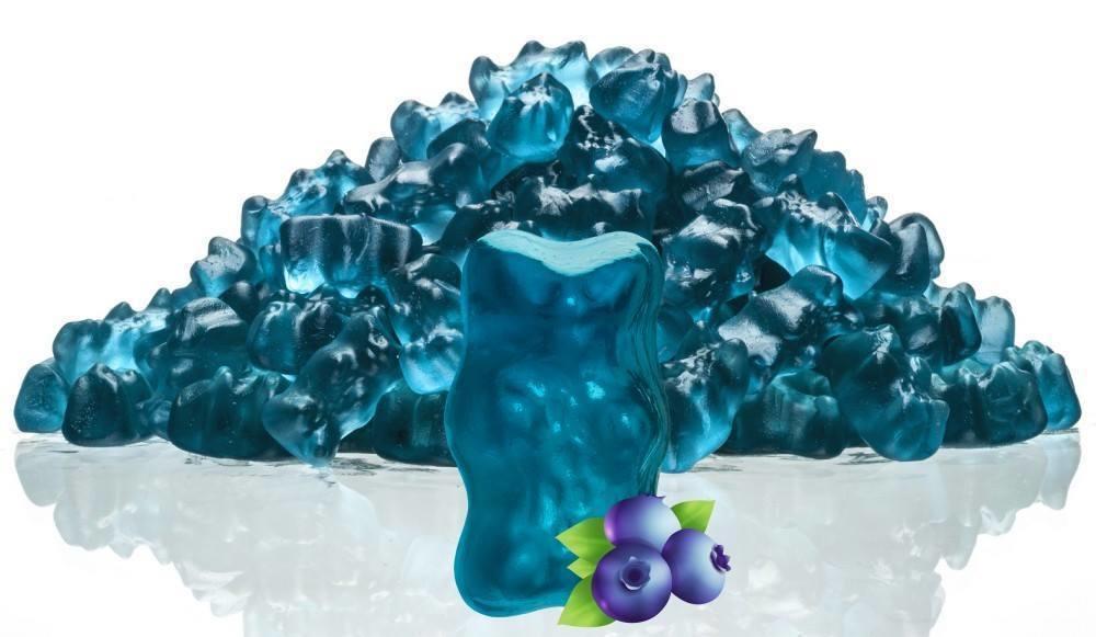 8dc5b76a9ef16 Kam bislang nicht in die Tüte  Haribo produziert blaues Gummibärchen ...