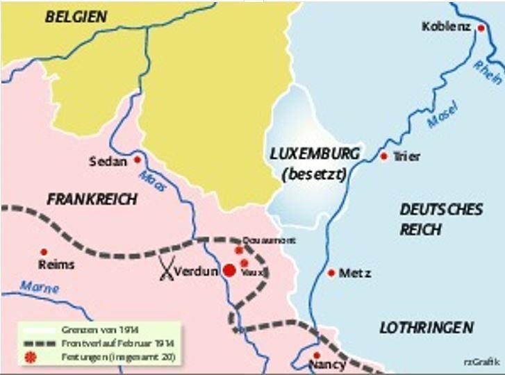 Die Schlacht Um Verdun Tagesthema Rhein Zeitung