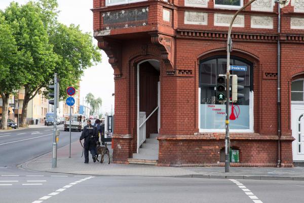 Polizeieinsatz Koblenz