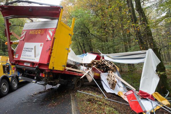 Unfall Auf Der B49 Heute