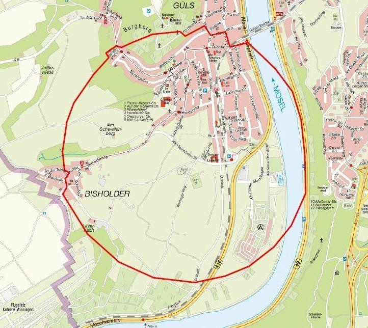 Karte Koblenz.Koblenz Güls Fliegerbombe Wird Freitagabend Entschärft Mit Karte