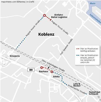 Prostituierte Koblenz