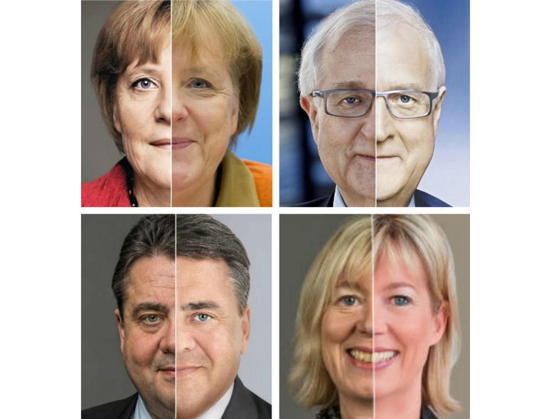 Wie man das Gesicht einer Person in Photoshop schlank macht