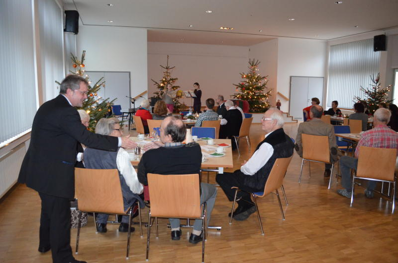 Andernachmayen Weihnachtsfest Führt Menschen Zusammen Rhein