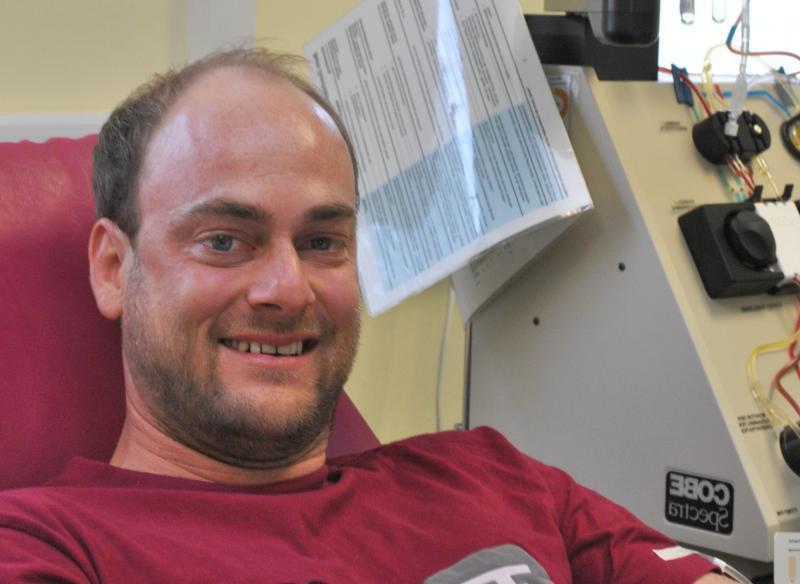 Markus Klein spende für leukämiepatient markus klein ist lebensretter aus