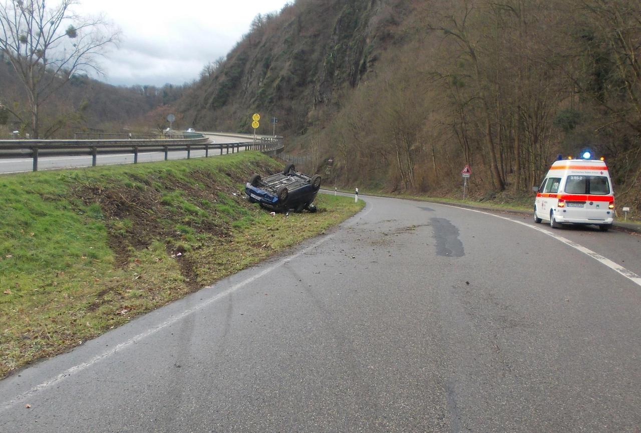 Unfall B260 Gestern