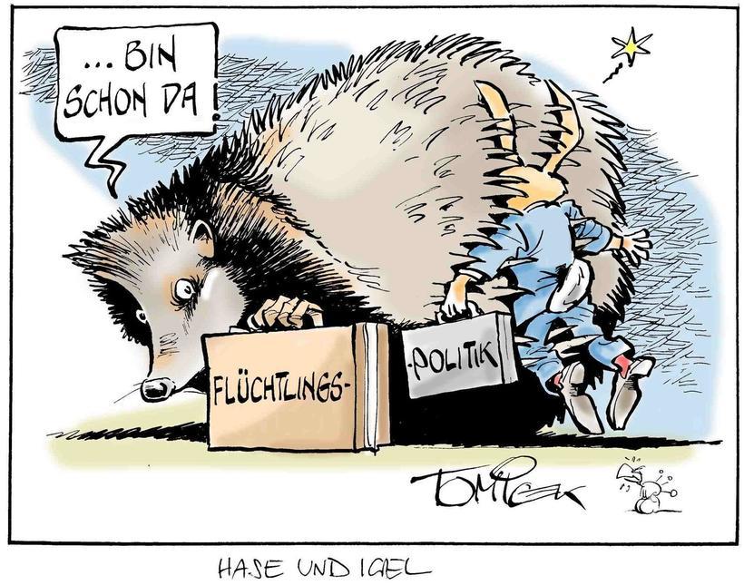 Karikaturen Juli 2015 Bilder Rhein Zeitung