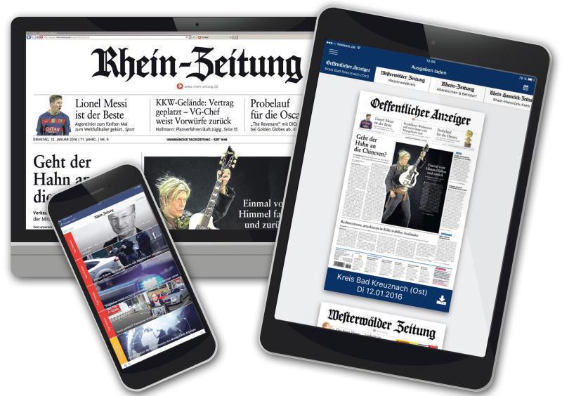 neue version unserer e paper app mobil lesen was in der zeitung steht computer rhein zeitung. Black Bedroom Furniture Sets. Home Design Ideas