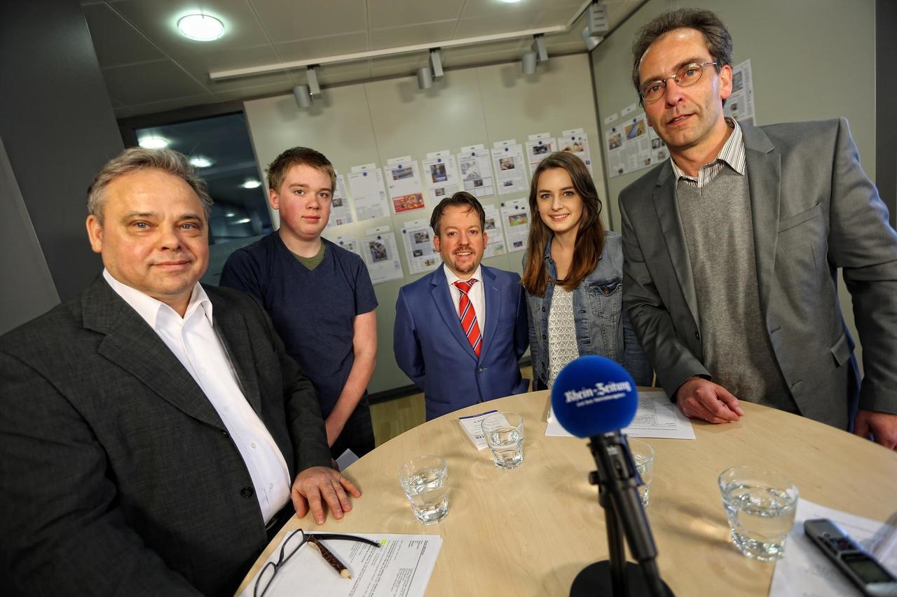 Wahlzeit Interview 1 Schuler Fragen Stephan Wefelscheid Freie Wahler Archiv Rhein Zeitung