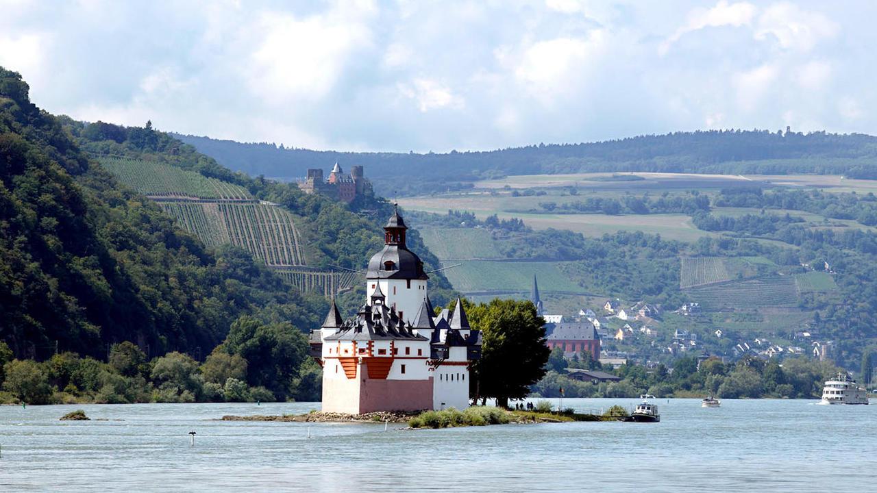 Burg pfalzgrafenstein von burg zu burg gem uer die Burg hachenburg