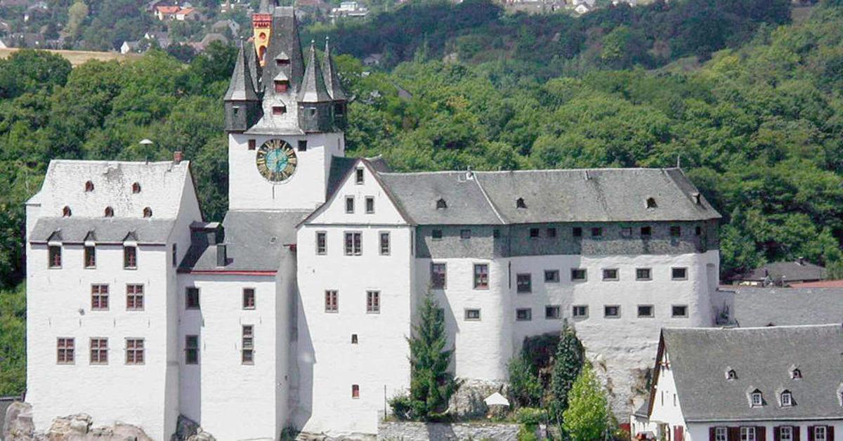Grafenschloss diez von burg zu burg gem uer die man Burg hachenburg