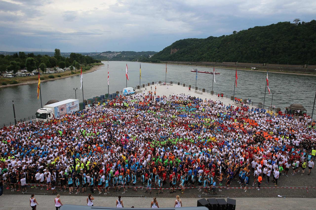 Unwetterwarnung Münz Firmenlauf In Koblenz Droht Die Absage Rhein