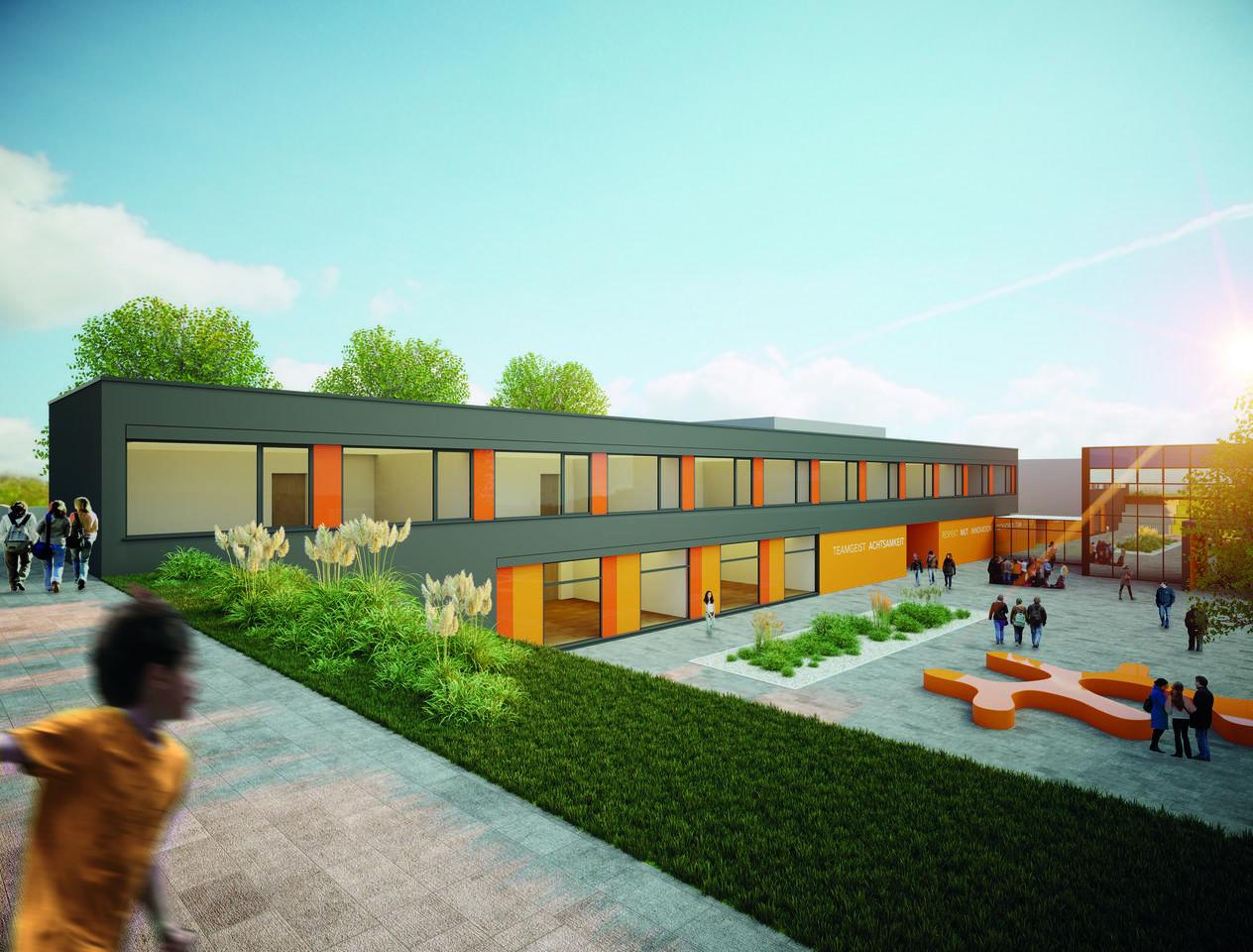 Meilenstein: Dernbacher Campus-Neubau kommt gut voran - Westerwälder ...