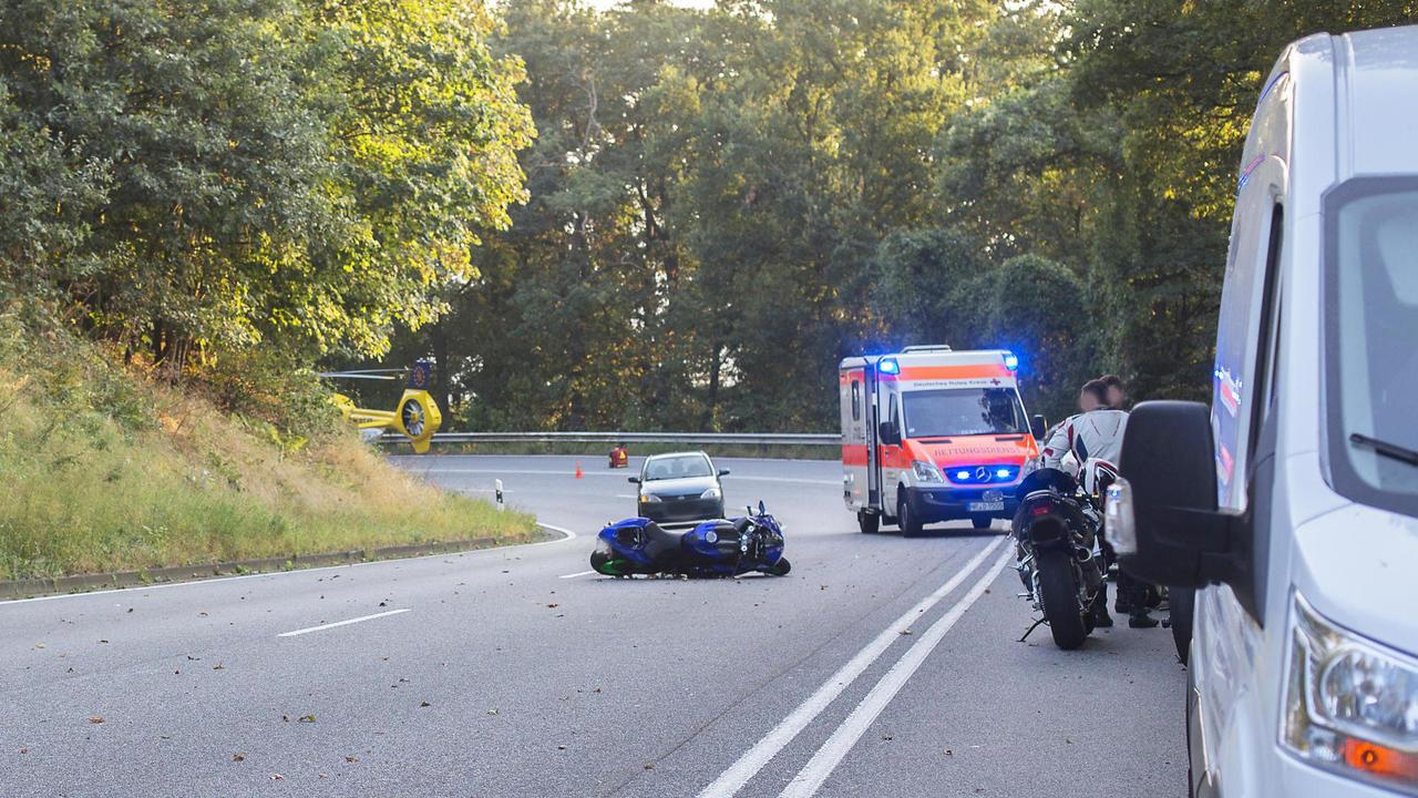 Tödlicher Unfall auf L258 bei Neuwied-Alteck: Motorradfahrer ...