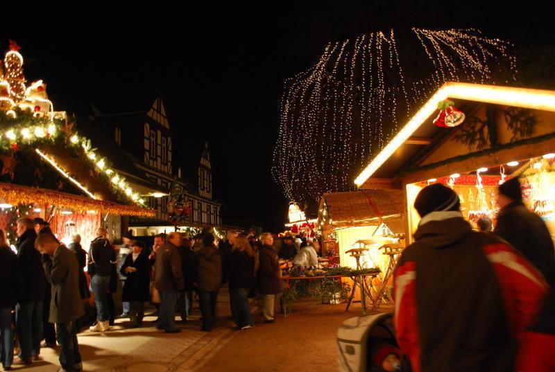 Bad Kreuznach Weihnachtsmarkt.Weihnachtsmarkt In Bad Munster Am Stein Romantische