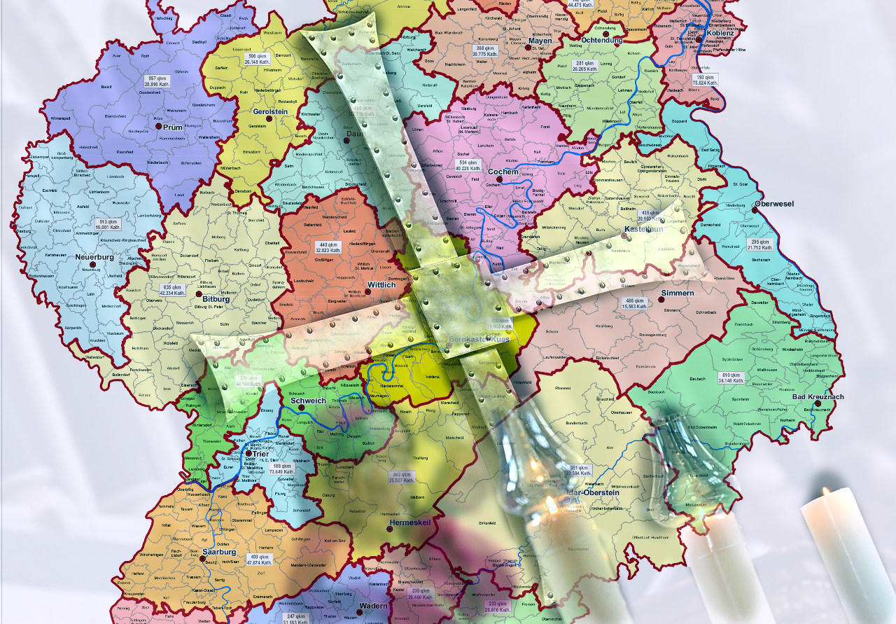 Bistum Trier Karte.Bistum Trier Strukturiert Sich Neu Antworten Von Generalvikar
