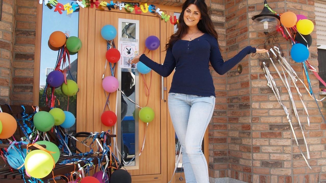 Lebenstraum erfüllt: Plaidterin Christina Braun (27) ist