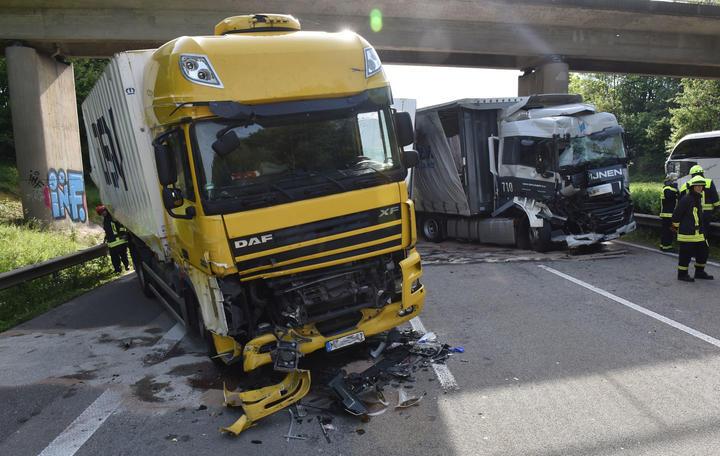 Unfall A61 Bad Neuenahr