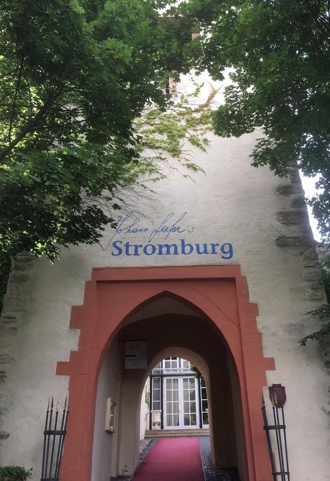Johann Lafers Stromburg putzt sich heraus: Le Val d\'Or ist wieder ...