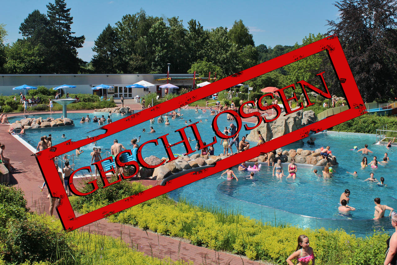 Technikschaden: Unfreiwilliger Badestopp im Freizeitbad