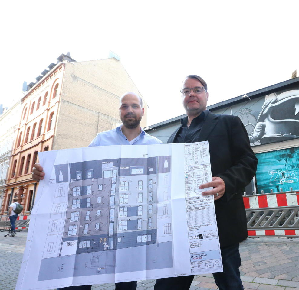 Architekt Koblenz neuer wohnraum auf historischem grund rhein zeitung koblenz