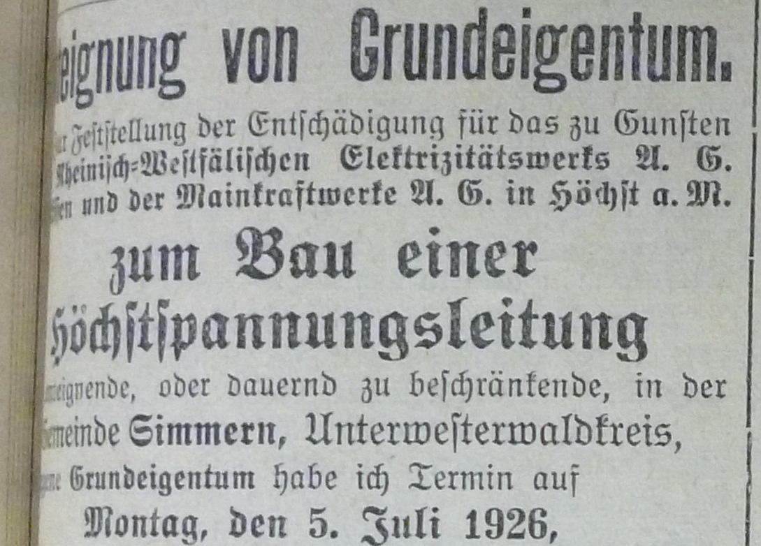 Netz vor 100 Jahren aufgebaut: Als der elektrische Strom in den ...