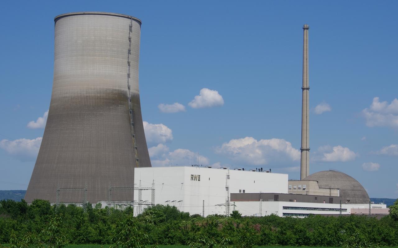 Kernkraftwerk Mulheim Karlich Landet Radioaktiver Mull Auf Der