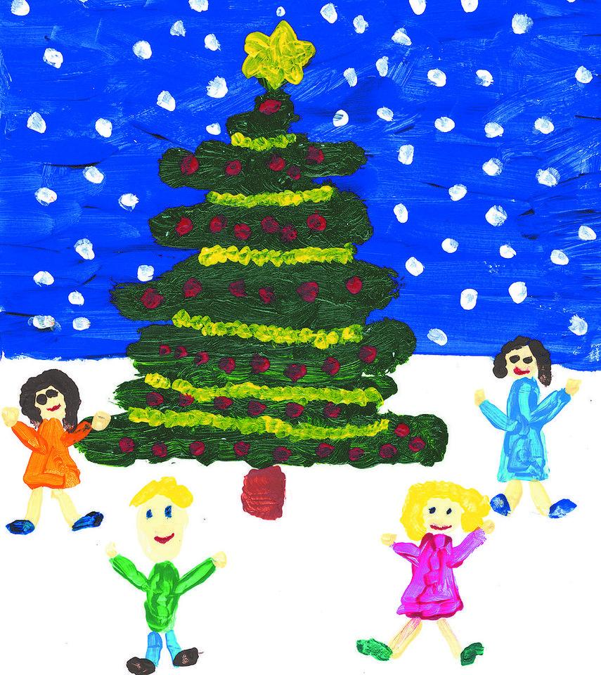 Weihnachtsbilder Für Frauen.Großer Wettbewerb Unserer Zeitung Kinder Malt Uns Weihnachtsbilder