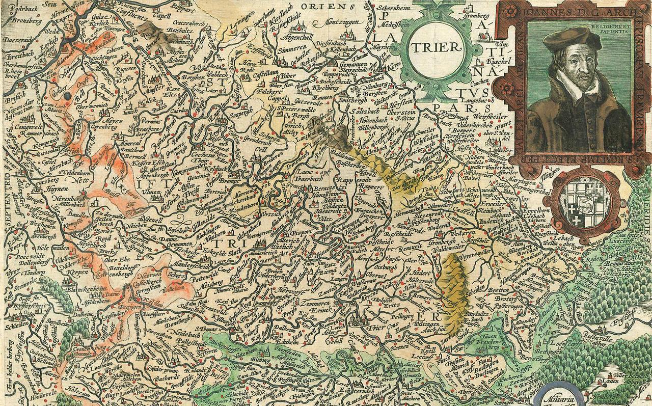 Karte Koblenz.Ausstellung In Koblenz Karten Erzählen Geschichte Des Rheingebietes