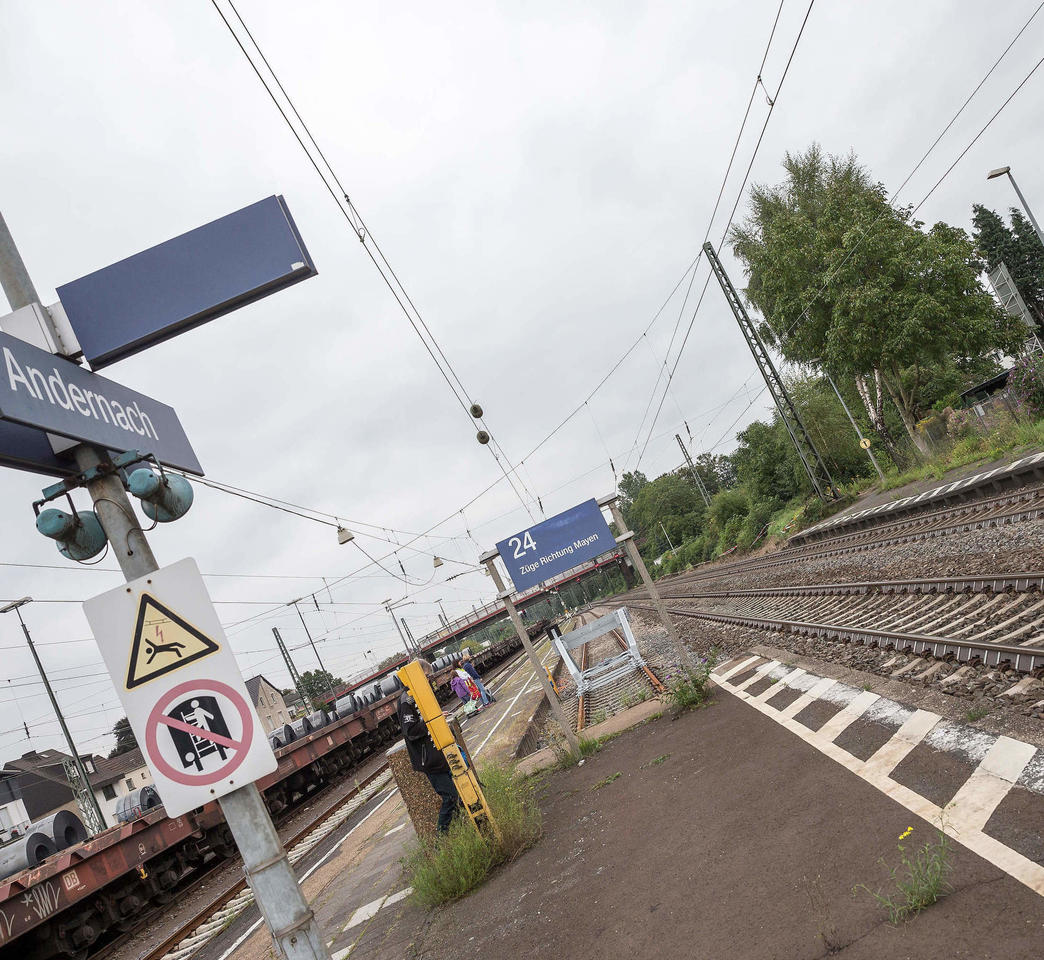 Fahrplanwechsel Der Bahn Abends Schneller Von Andernach