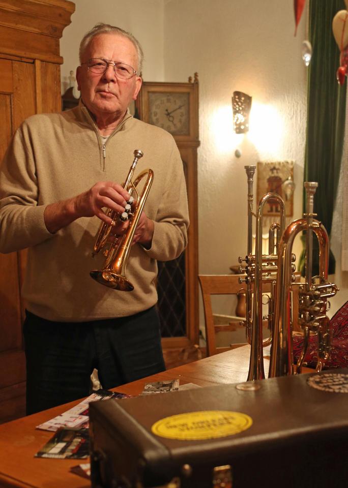 Peter Maffay Weihnachtslieder.Werner Müller Die Musik Ist Sein Leben Rüstiger Rentner Stand