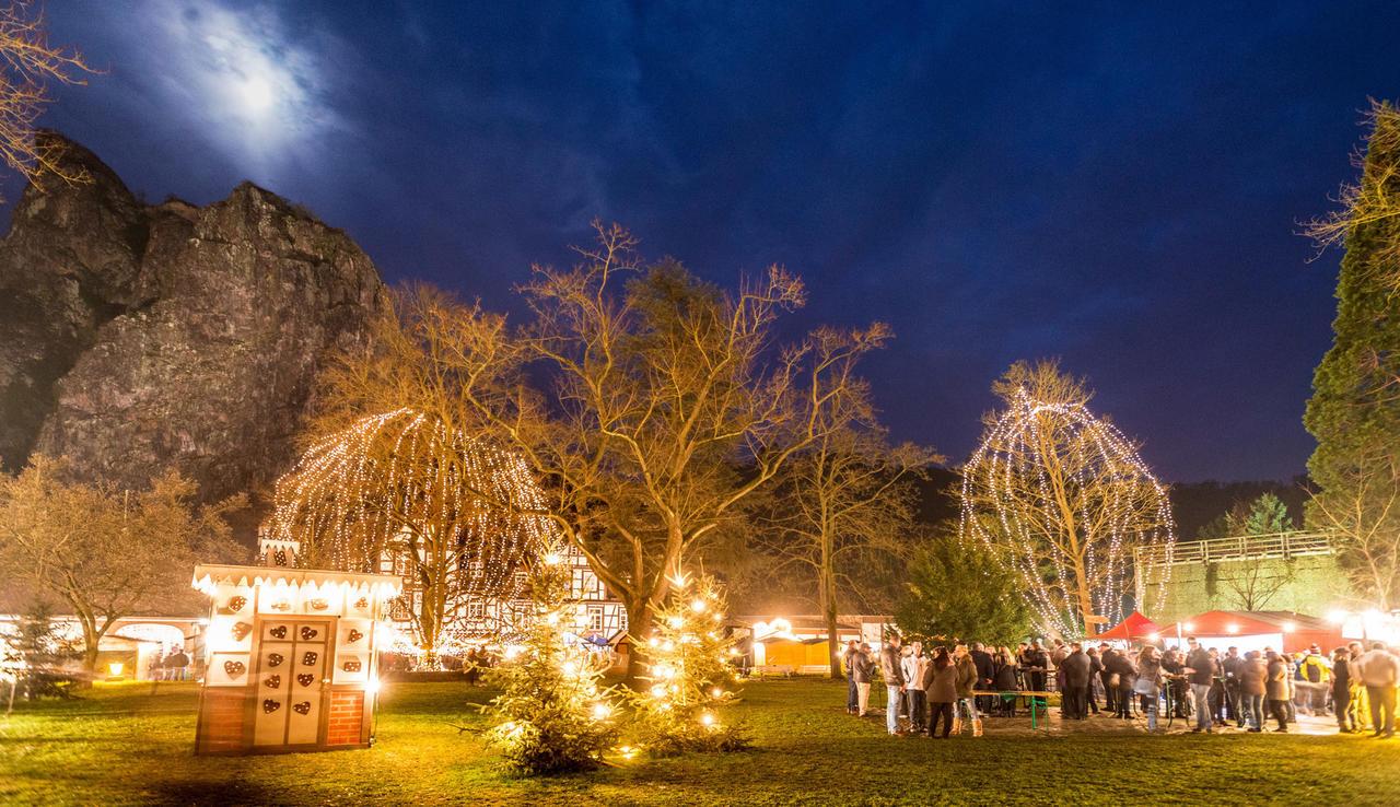 Bad Kreuznach Weihnachtsmarkt.Rotenfels Romantik Und Die Radontherapie Freizeit Rhein