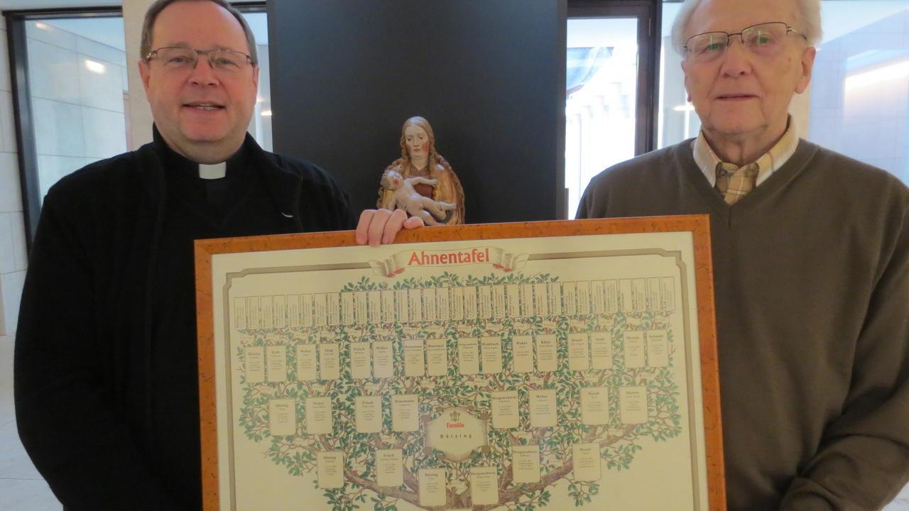 Stammbaum zeigt: Bischof hat Wäller Wurzeln - Westerwälder Zeitung ...