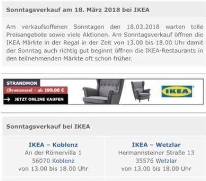 Ikea Kunden Stehen Vor Der Tür Verkaufsoffener Sonntag Fand Nicht