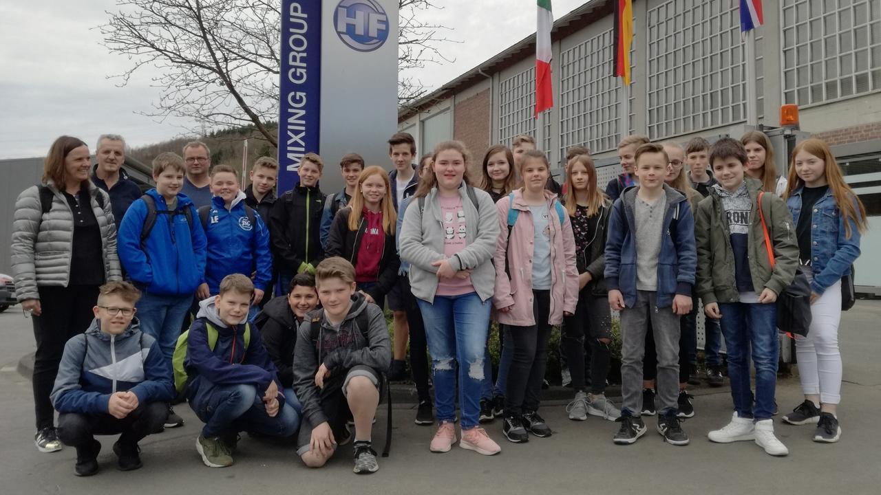 Arbeitsleben versus Schule – Schüler der IGS Betzdorf ...