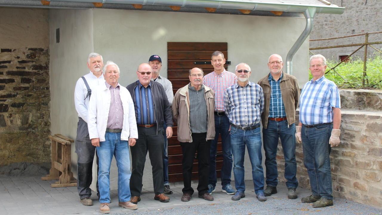 Neue Heimat für die historischen Weinbaugeräte ist fertiggestellt ...