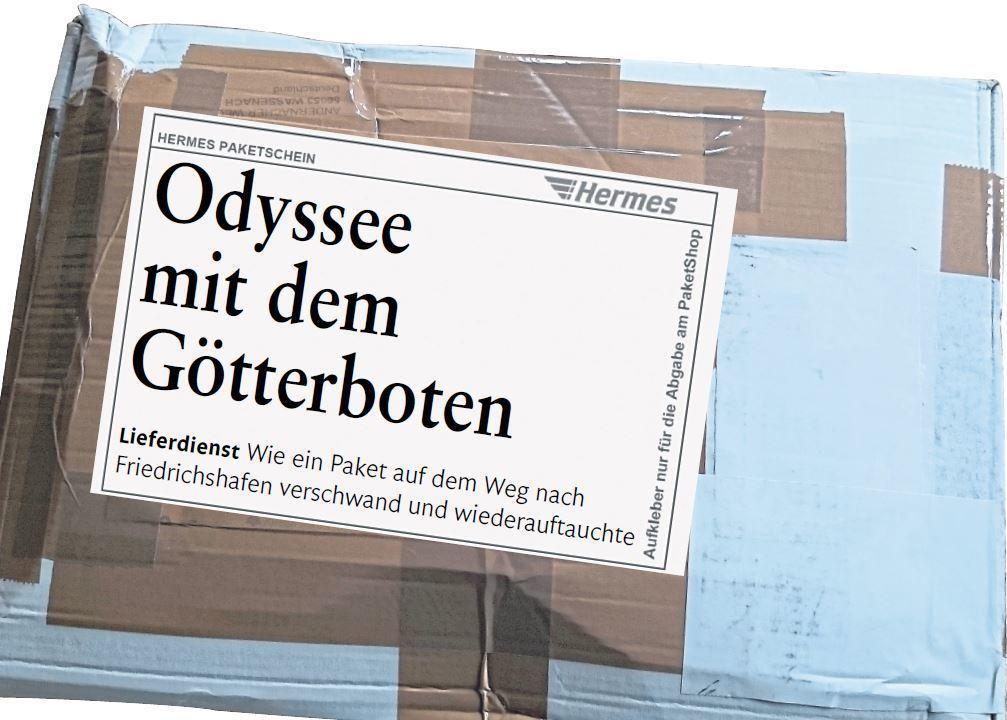 Odyssee Mit Dem Götterboten Wie Ein Paket Erst Verschwand