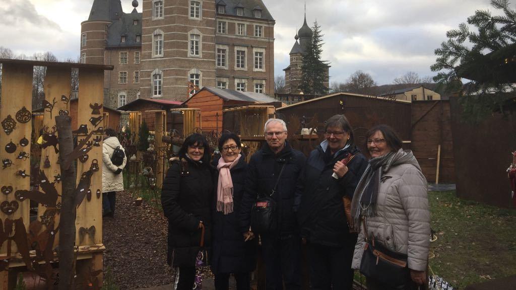 Weihnachtsmarkt Schloss Merode.Romantischer Weihnachtsmarkt Auf Schloss Merode Koblenz Region