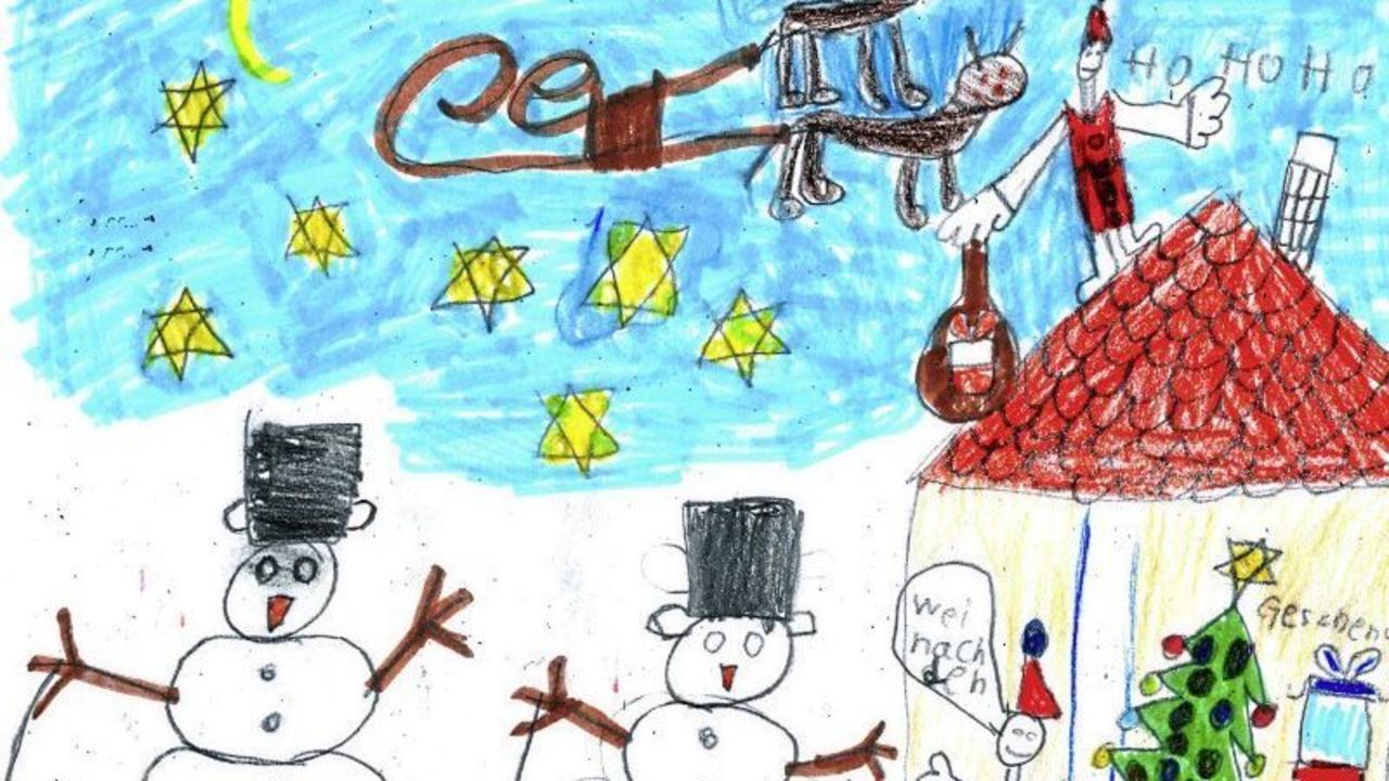 Weihnachtsbilder Nikolaus.Großer Malwettbewerb Für Kinder Wir Zeigen Die Schönsten