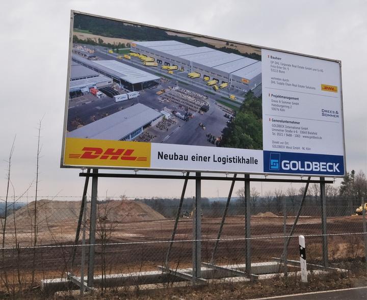 79669af5614c31 DHL schafft 70 neue Arbeitsplätze - Rhein-Hunsrück-Zeitung - Rhein ...