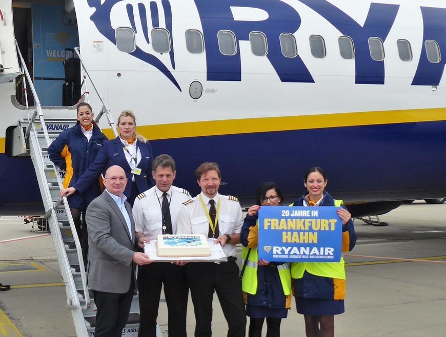 Ryanair Ankunft Hahn