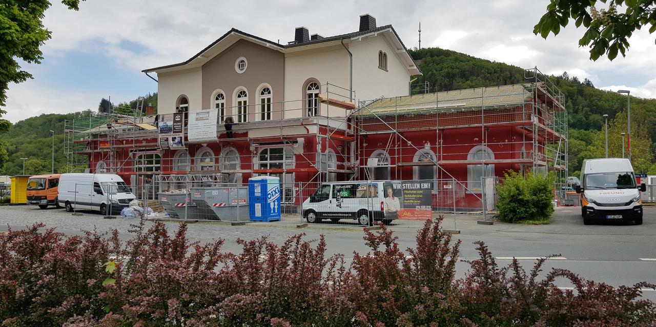 Neueröffnung Am Freitag Bahnhof Wird Wieder Visitenkarte