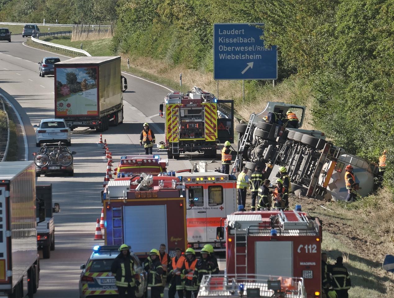 Unfall A 61 Rheinböllen