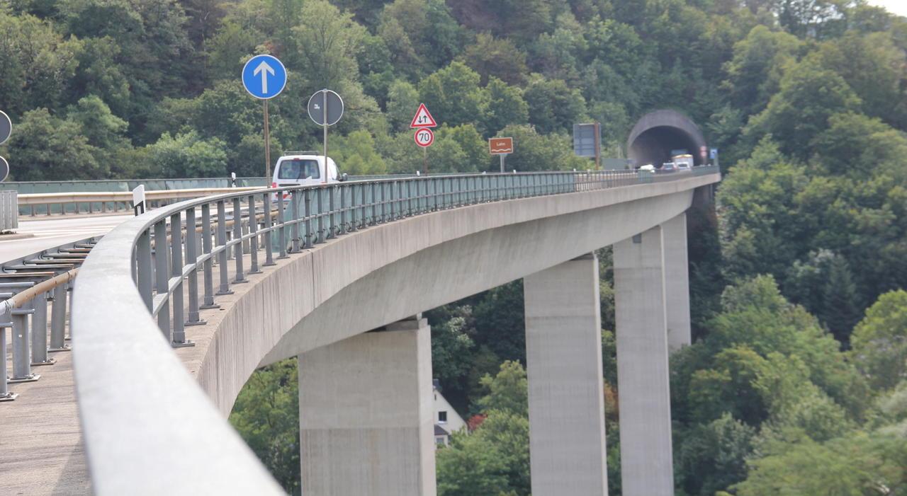 B42 Sperrung Lahnstein