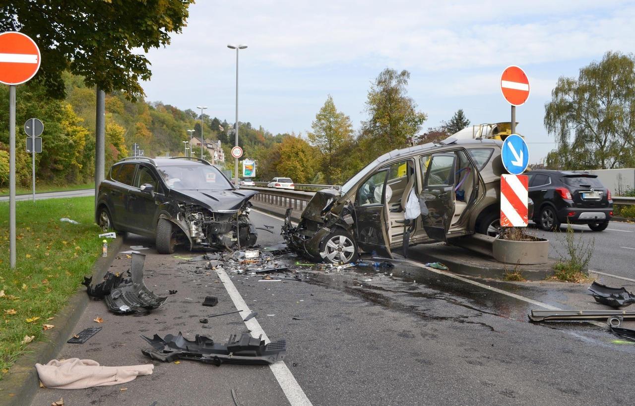 Verkehrsunfall Koblenz