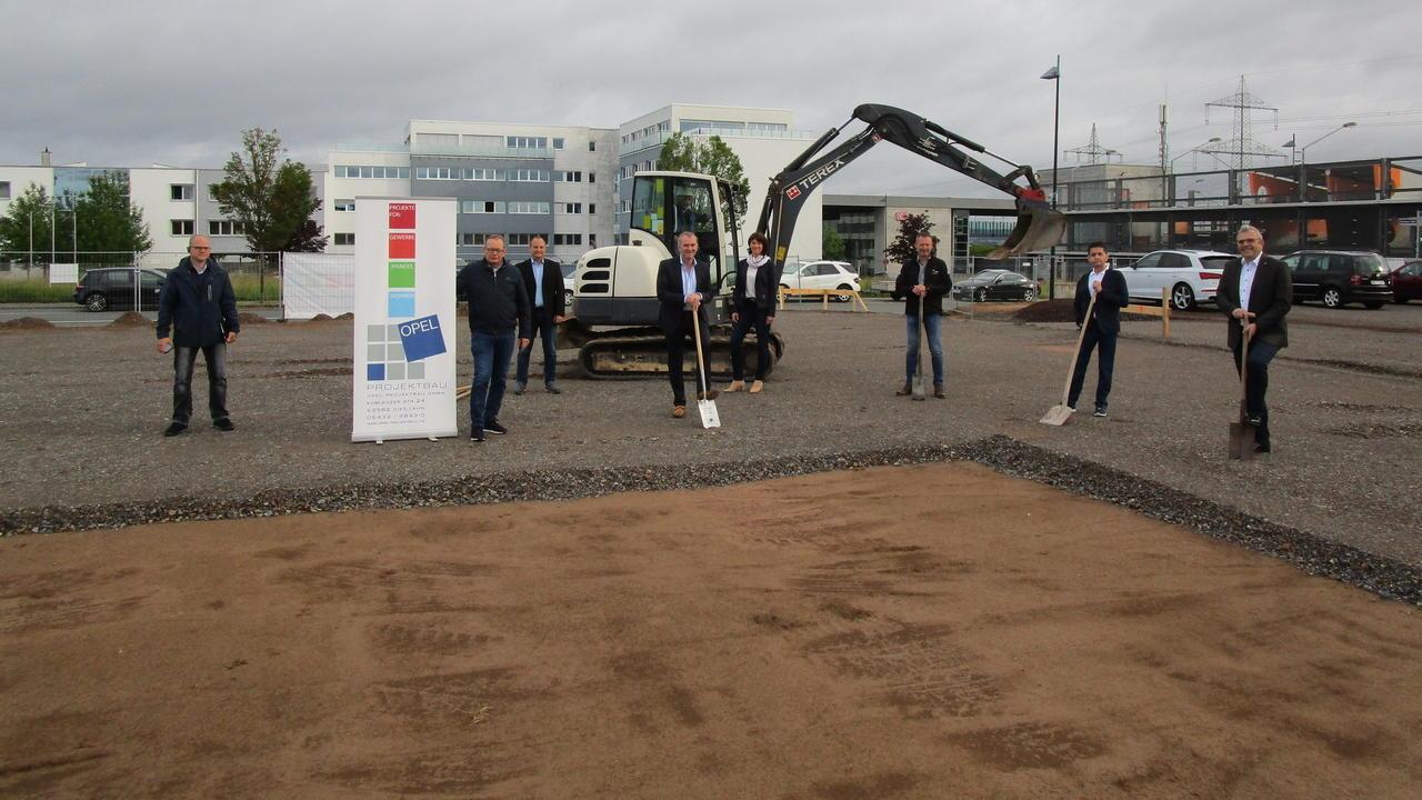 Spatenstich Fur Neuansiedlung Technisches Zentrum Kommt Ins Ice Gebiet Rhein Lahn Zeitung Rhein Zeitung
